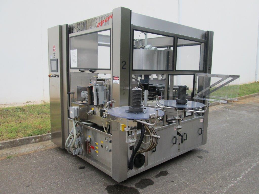 Sacmi Model OPERA 200RF 15-Station Roll Feed Rotary Labeler, S/N: M00251   Load Fee: $250 - Image 2 of 6