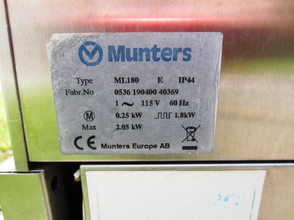 Munters Model MC-013 Dehumidification System For Blowmolder, S/N: OCO1219-01 | Load Fee: $100 - Image 3 of 3