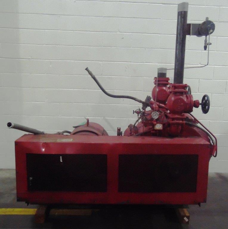 Vilter 100HP Ammonia Compressor, S/N: N/A | Load Fee: $100