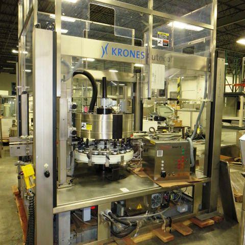 Krones Model Autocol Front/Back High Speed Pressure Sensitive Labeler, S/N: 747-   Load Fee: $250 - Image 3 of 4