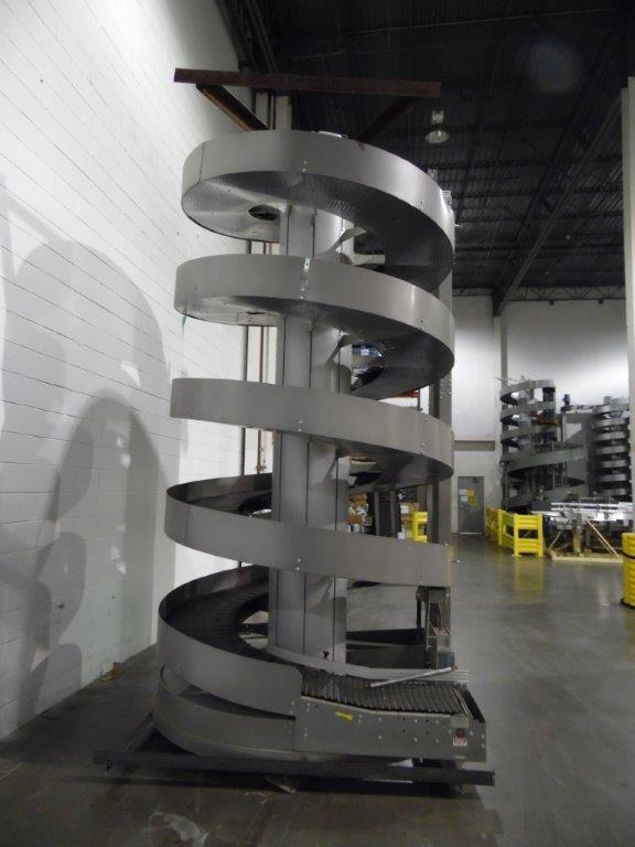 Ryson Model 1600-300-C1-4.50 Spiral Case Elevator, S/N: 113055 | Load Fee: $150 - Image 2 of 3