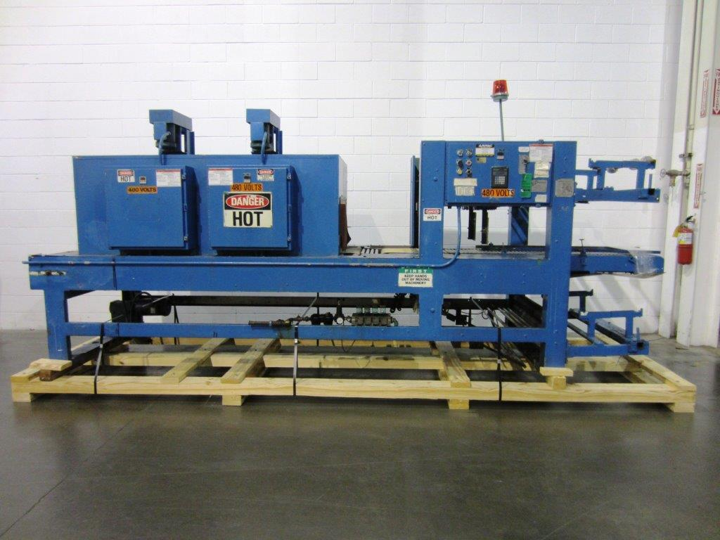 Arpac Model 105 28 TW Tray Shrinkwrapper with Heat Tunnel, S/N: 1767 | Load Fee: $250