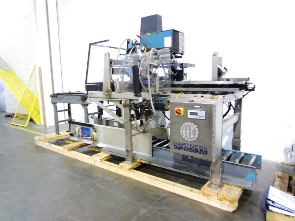 Hartness Model TF50 Tray Former, S/N: 16-087   Load Fee: $250