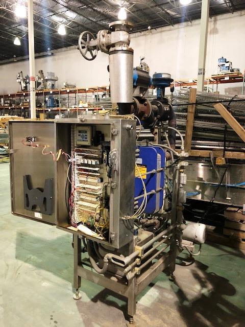 Clean in Place (CIP) System, Alfa Laval P/F Heat Exchanger, SS Tubular Base   Load Fee: $100 - Image 2 of 2