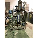 Clean in Place (CIP) System, Alfa Laval P/F Heat Exchanger, SS Tubular Base | Load Fee: $100