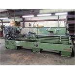 Nardini Model SZ2080T 20'' x 80'' Engine Lathe with 12'' Diameter 3-Jaw Chuck, 4'' Spindle Bore,