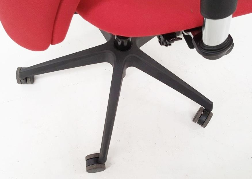 A Pair Of LIMA Branded Premium Adjustable Office Chairs Featuring Fixed Lumbar Support And Arm Rests - Image 7 of 7