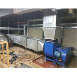 1 x Extensive Commercial Catering Extraction System - Please See Description For Dimensions -