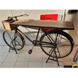 1 x Vintage Delivery Bicycle Display Table / Prop - Ref: UK - CL482 - Location: Altrincham