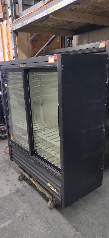 """Lot 530 - TRUE GLASS DOOR FRIDGE 53"""" X 43"""""""