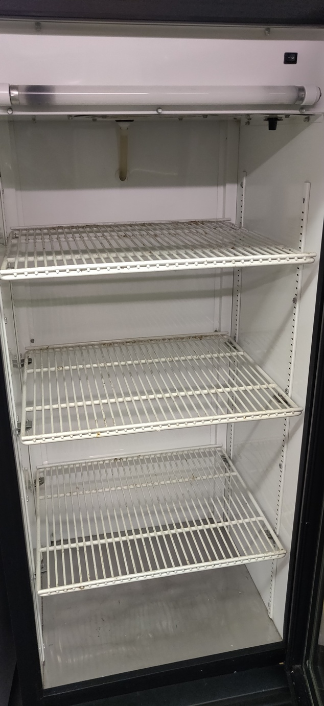 "Lot 539 - TRUE FRIDGE 63"" X 26"""