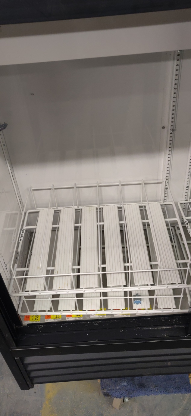 "Lot 531 - TRUE GLASS DOOR FRIDGE 48"" X 48"""