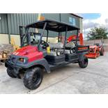 2013/2014 CLUB CAR 4X4 ATV WITH INTELLITRAK, TWO ROW, DIESEL, DUMP BED, RUNS AND OPERATES