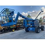 GENIE Z45/25J ARTICULATING MAN LIFT, 4X4, DIESEL POWERED, 45' PLATFORM HEIGHT CAPACITY