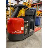 LINDE ELECTRIC RIDE ON PALLET JACK MODEL ECR60, 6,000 LB CAPACITY, 24V