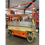 2014 JLG 1930ES ELECTRIC SCISSOR LIFT, SELF PROPELLED, EXTENDABLE PLATFORM, 500 LB CAPACITY, 19' PLA
