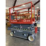 2016 SKYJACK SJIII 3219 ELECTRIC SCISSOR LIFT, SELF PROPELLED, EXTENDABLE PLATFORM, 500 LB CAPACITY,