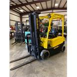 HYSTER J40XN 36V FORKLIFT, TILT, SIDESHIFT, AUX HYDRAULICS, RUNS AND OPERATES