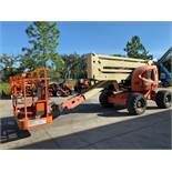 JLG 450A DIESEL POWERED ARTICULATING BOOM LIFT, 45' PLATFORM HEIGHT, RUNS AND OPERATES