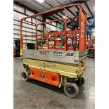 2014 JLG 1930 ES ELECTRIC SCISSOR LIFT, SELF PROPELLED, 19' PLATFORM HEIGHT, 500 LB CAPACITY, SLIDE
