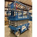 GENIE GS-1930 ELECTRIC SELF PROPELLED SCISSOR LIFT, 19' PLATFORM HEIGHT, SLIDE OUT PLATFORM