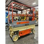 JLG 1930ES PRO-FIT SERIES ELECTRIC SCISSOR LIFT, SELF PROPELLED, 19' PLATFORM HEIGHT, SLIDE OUT PLAT