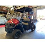 2016 CLUB CAR XRT 4X4 ATV, DUMP BED, RUNS AND DRIVES