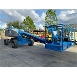 GENIE S-40 DIESEL 4 x 4 BOOM LIFT, 40' PLATFORM HEIGHT, RUNS & OPERATES