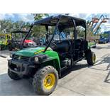 2015 JOHN DEERE GATOR 855E DSL XUV, 2 ROW, GAS POWERED ATV, DUMP BED, RUNS AND OPERATES