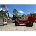 SNORKEL TB42 ARTUCULATING DIESEL BOOM LIFT, 4x4, 42' HEIGHT CAP, 500 LB PLATFORM CAP, RUNS AND OPERA