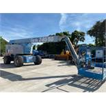 GENIE Z80/60 DIESEL POWERED ARTICULATING BOOM LIFT, 4X4 RUNS AND OPERATES