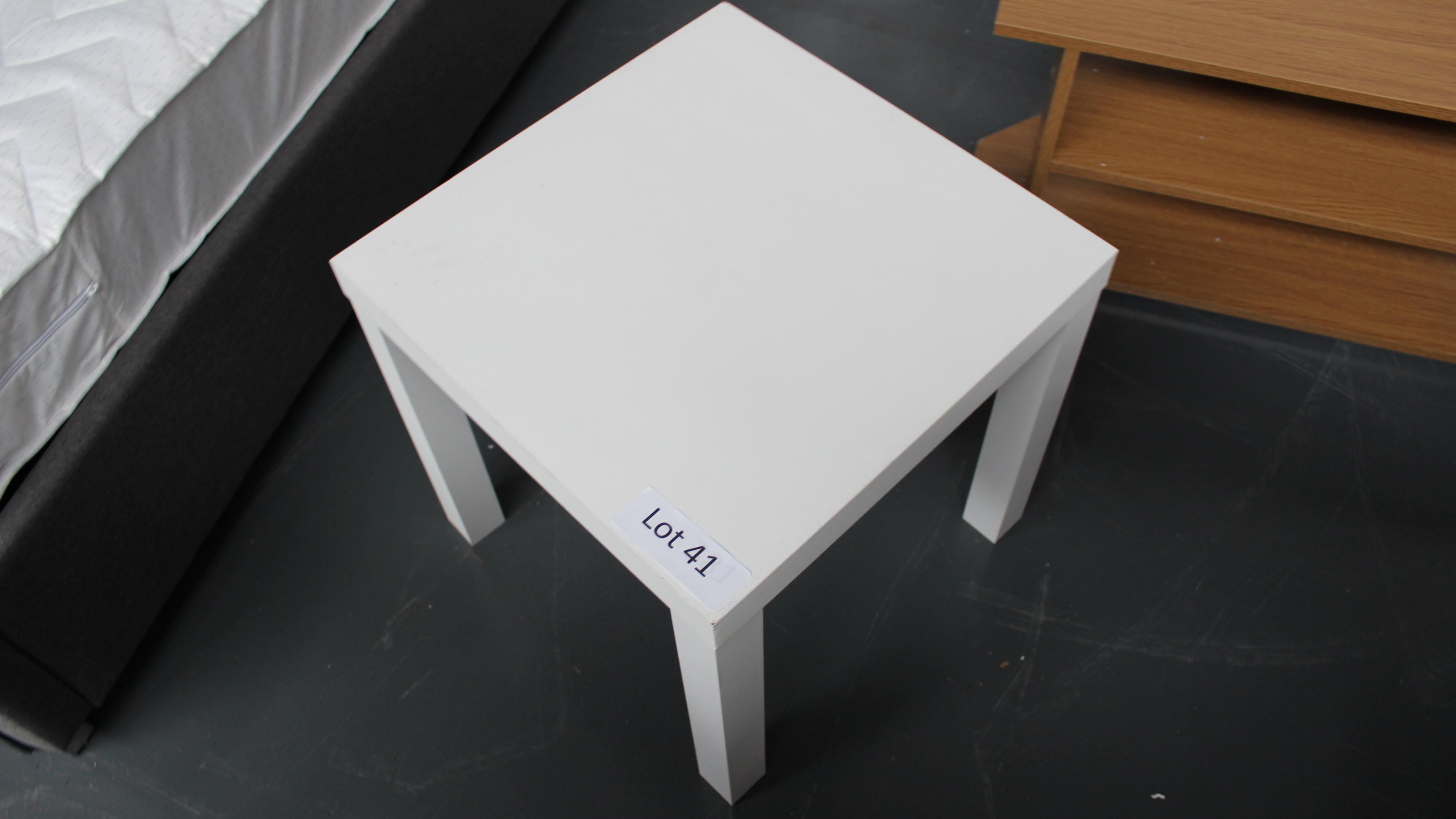Lot 41 - Wooden Table. Customer Returns