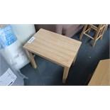Wooden Table. Customer Returns