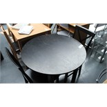 Black Dining Table & 4 Chairs. Customer Returns