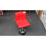 Red Bar Stool. New