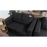 2 Seater Charcoal Sofa. Customer Returns