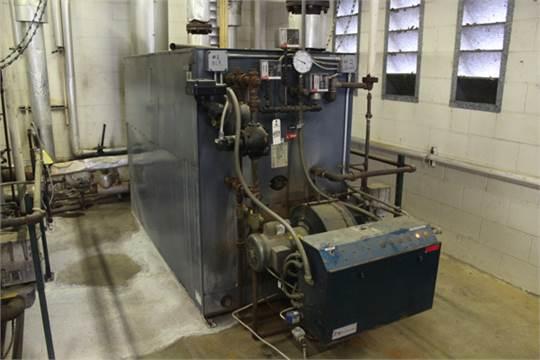 Weil-McLain Gas Fired Boiler, M# P-1188-S, 15 lbs. Steam, 2,724 Lb ...