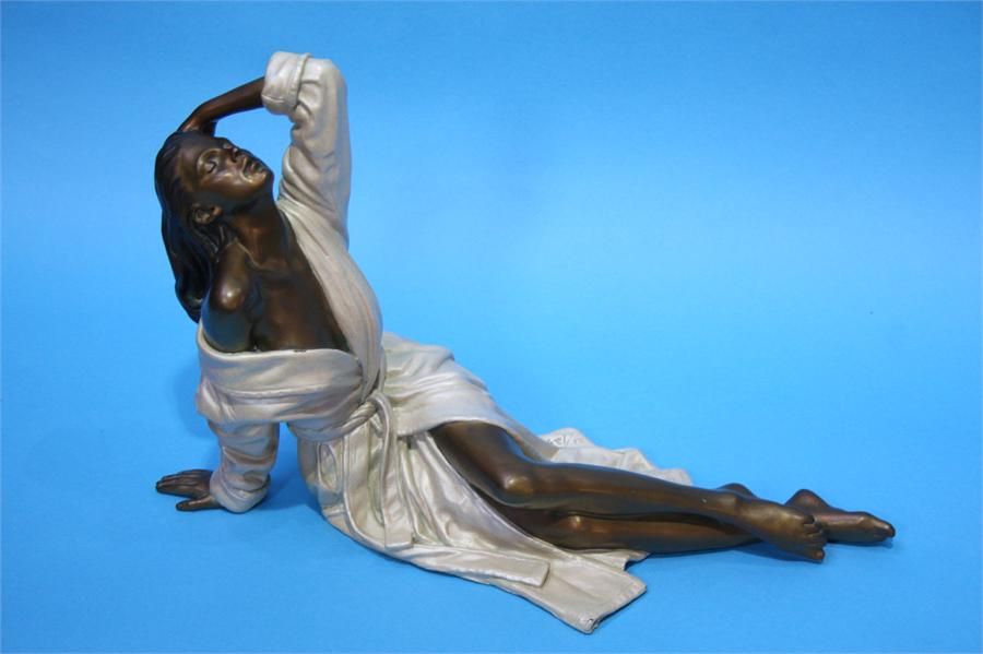 Lot 9 - A Limited edition bronze sculpture by Ramon Parmen