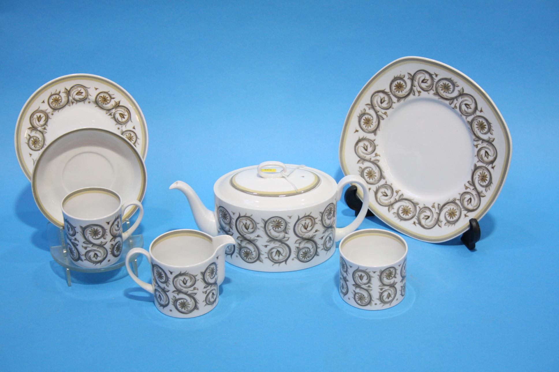Lot 54 - Susie Cooper 'Venetian' coffee set.