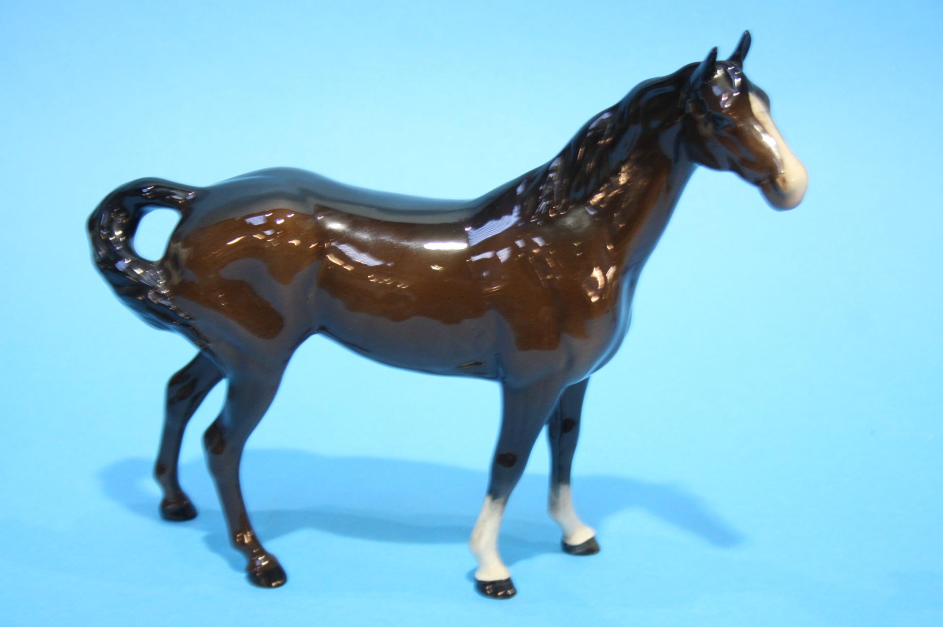 Lot 57 - Four Beswick horses.