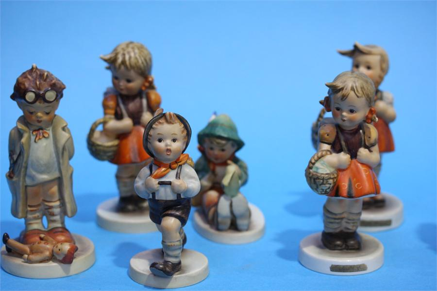 Lot 32 - A Collection of twelve Hummel figures.