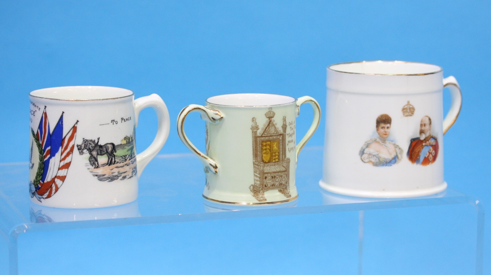 Lot 13 - An Aynsley Commemorative Loving Cup etc.