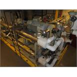 Array Systems with Micon model 20101SC C1 compressor, s/n 202449 with WEG 400 hp induction motor,