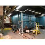 Cleaver Brooks water tube boiler with burner model WT200-CL-2, s/n WL-3293, max rate MBTU 45.912,