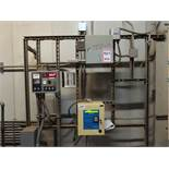 Lot including: PAL-AT leak detection/location system control, digtal read out, Pnuemercator tank