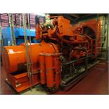 Waukesha Enginator stand by generator model VHP5900DS, s/n RU19556, 1.0 MW, engine model L792DSU,
