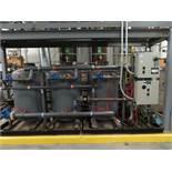 Diamond water system model TSA-330, s/n 3531, includes (3) steel tanks, approx. 300 gallone each,
