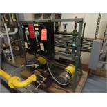 Lot of (2) boiler fuel pumps, 3hp, size 2.5 X 3 X 9 with WEG 7.5 hp motor, pump number 3, locaton
