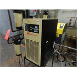 Ingersoll Rand model D85ECA100 refrigerated air dryer, s/n WCH1019693, 200 psig max., located in CUP