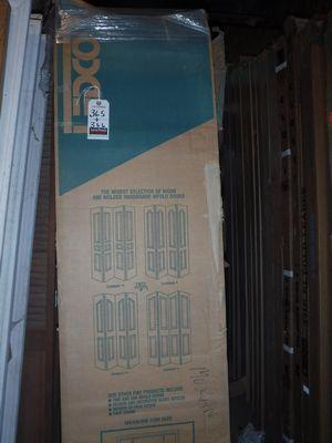 Lot 366 - LEDCO 30\  X 80\  BIFOLD CLOSET DOORS & LEDCO 30\
